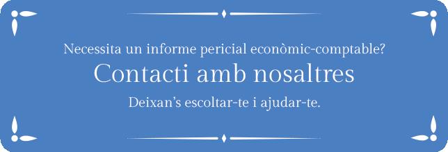 Informe pericial economic comptable